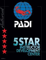 PADI emblem